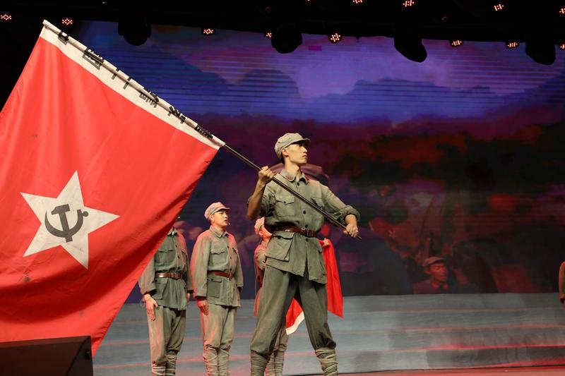 音乐剧《红色的军旗》.JPG